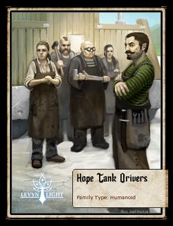 Hope Tank Drivers