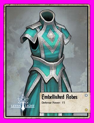 Embellished Robes