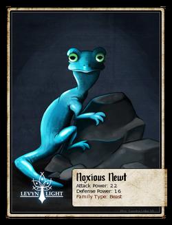 Noxious Newt