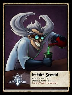 Irritated Scientist