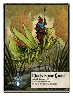 Mantis Honor Guard