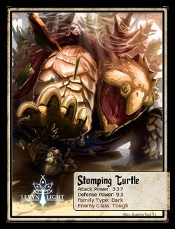 Stomping Turtle