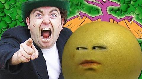 Leprechaun Vs. Grapefruit! (Characters From The Annoying Orange!)
