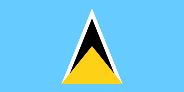 File:Saint lucia flag.png