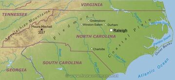 Northcarolina-map