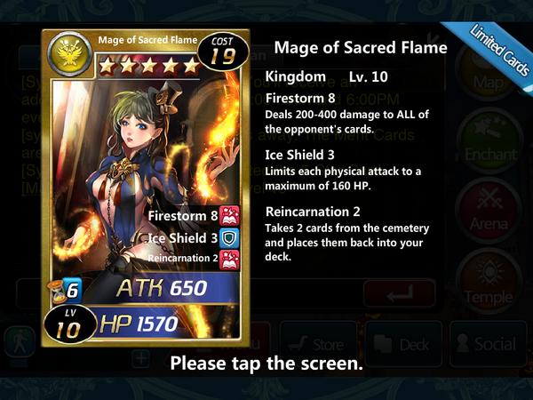 Mage of Sacred Flame 10