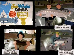 Diner-walloffame