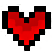 Pixelheart emoticon