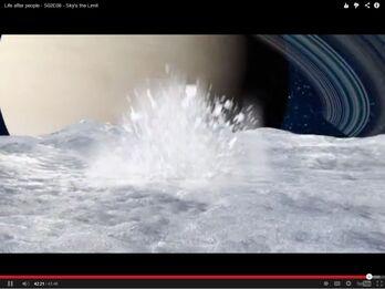 Cassini Probe in Sky's the Limit