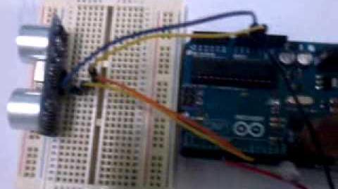Sensor ultrasonico y Arduino