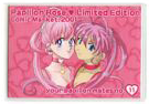 Limited edition card Comiket 2001