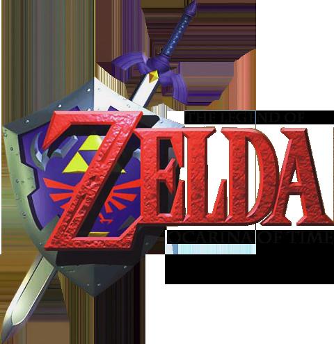 Legend of Zelda sword and shield logo