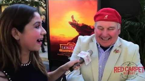 Ernie Sabella, Voice of Pumbaa