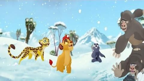 Lion Guard Kuishi Ni Kucheka Song The Lost Gorillas Clip