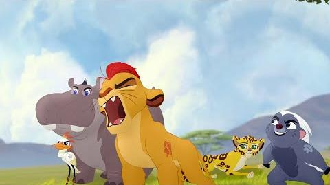 Kion's Roar of the Elders - The Search for Utamu Lion Guard HD Clip