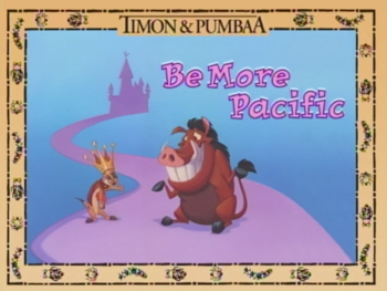 Be more Pacific