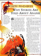 Why Stories Are Told About Anansi