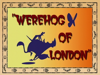 Werehog of London