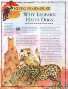 Why Leopard Hates Dogs 1