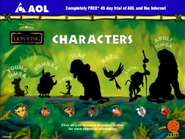 TheLionKing AOL Characters