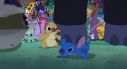 Timon and Pumbaa in Leroy and Stitch