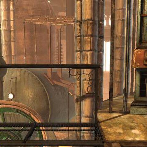 Victoria's Laboratory background in LittleBigPlanet 2