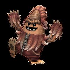 Bigfoot costume for Big Toggle