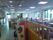 Hickstead interior
