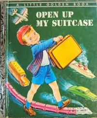 Open up my suitcase