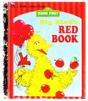 Big birds red book 1993 golden book