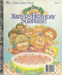 Xavier's birthday surprise