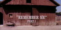 Episode 207: Remember Me (Part 1)