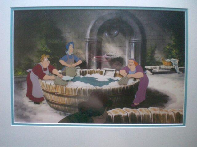 File:Washerwomen animation cel.jpg