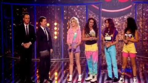 Little Mix ~ Wings (on 'Red or Black') 25th Aug 2012
