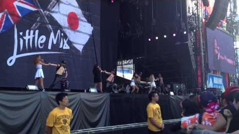 Little Mix - Move Live at Summer Sonic 2014