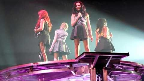Little Mix - Cannonball X-Factor Tour 2012 Newcastle Metro Radio Arena