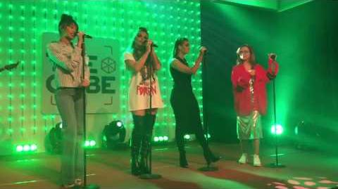 Little Mix - Hair (Acoustic) - Live at the Qube in Amsterdam