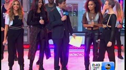 Little Mix Interview and Singing on GMA Good Morning America VIDEO
