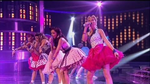 Little Mix love a bit of Bieber - The X Factor 2011 Live Show 8 - itv