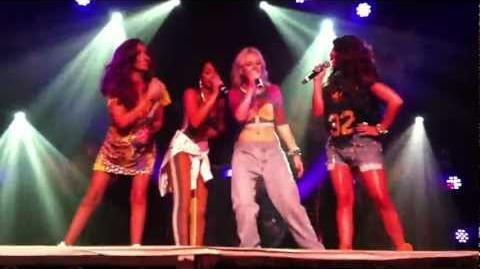 """Little Mix- """"Superbass"""" at G-A-Y (18th Aug '12)"""