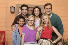 Liv and Maddie family photo
