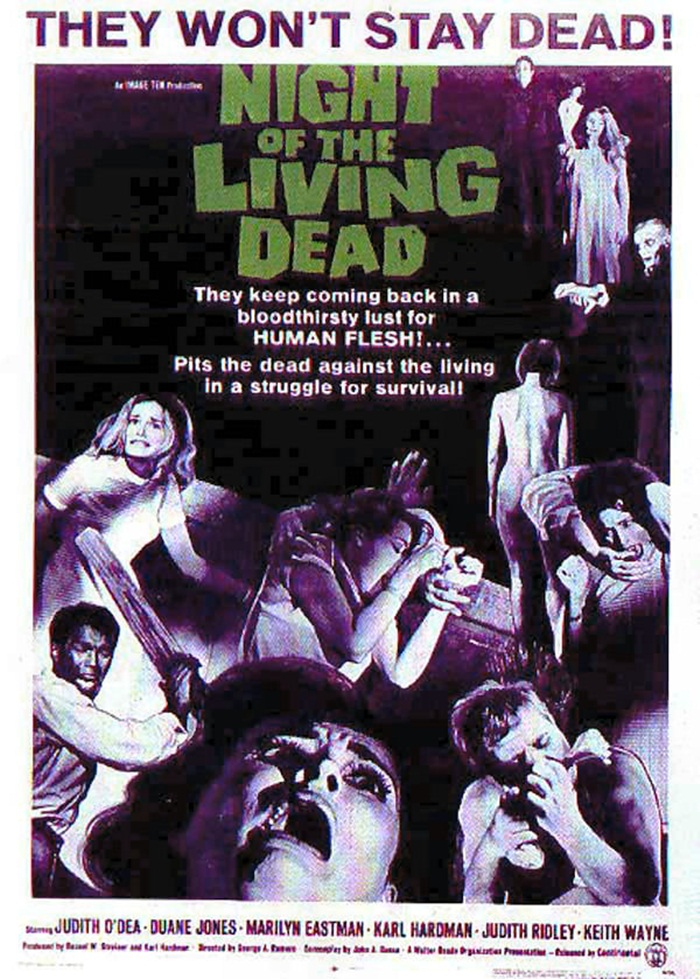 Night of the Living Dead affiche