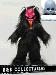 LLD Black-and-Red KRAMPUS