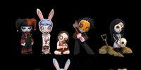"Living Dead Dolls 2"" Figures Series 1"
