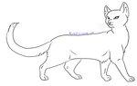 File:Cat Lineart 05 by Mireille29.jpg