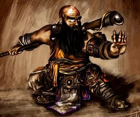File:Dwarf monk (Resized) by the fronti-d4emwak.jpg