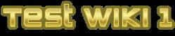 Test Wiki1 Wiki