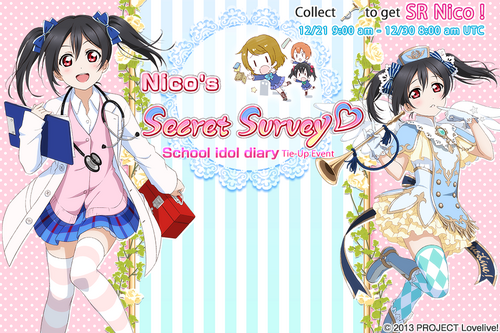 Nicos Secret Survey EventSplash