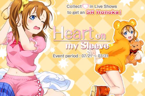 Heart on My Sleeve EventSplash