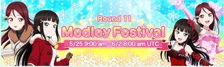 Medley Festival Round 11 EventBanner